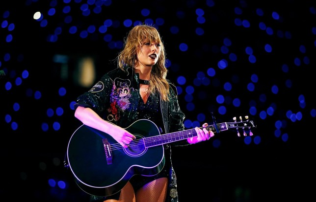 BRISBANE, AUSTRALIA - NOVEMBER 06: Taylor Swift performs at The Gabba on November 6, 2018 in Brisbane, Australia. (Photo by Don Arnold/TAS18/Getty Images)
