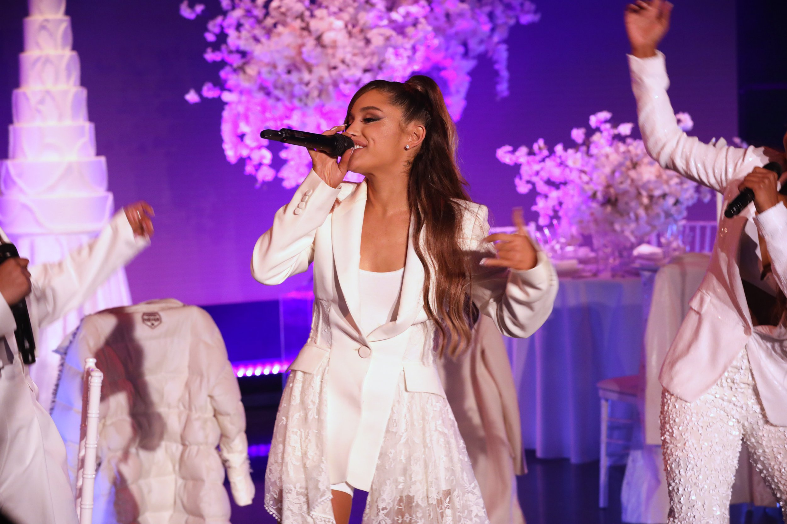 Ariana Grande performs Thank U, Next on Ellen and we're living for it
