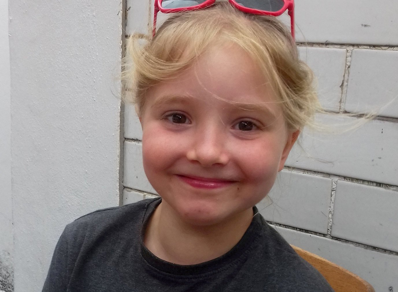 Police hand out of Harriet Emily Nicola Forster, aged 9.See Ross Parry story SWLErocks; Inquest into 9yo girl who tragically died from serious head injuries when rocks fell from a cliff on North Yorks., beach