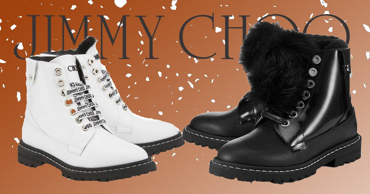 Jimmy Choo launches heated boots to keep your toes warm this winter