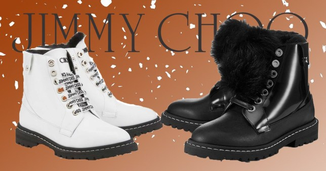 Jimmy Choo launches heated boots for winter