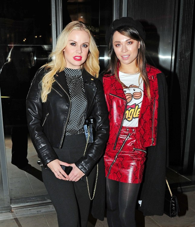 BGUK_1397120 - London, UNITED KINGDOM - Stars arriving at Madison One event including in London Pictured: Katya Jones, Joanne Clifton BACKGRID UK 7 NOVEMBER 2018 BYLINE MUST READ: NASH / BACKGRID UK: +44 208 344 2007 / uksales@backgrid.com USA: +1 310 798 9111 / usasales@backgrid.com *UK Clients - Pictures Containing Children Please Pixelate Face Prior To Publication*
