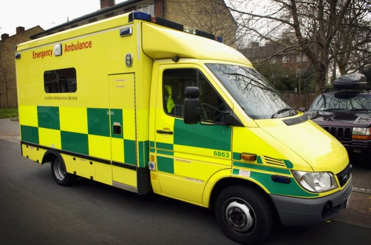 NHS ambulance (Photo by Universal Images Group via Getty Images)