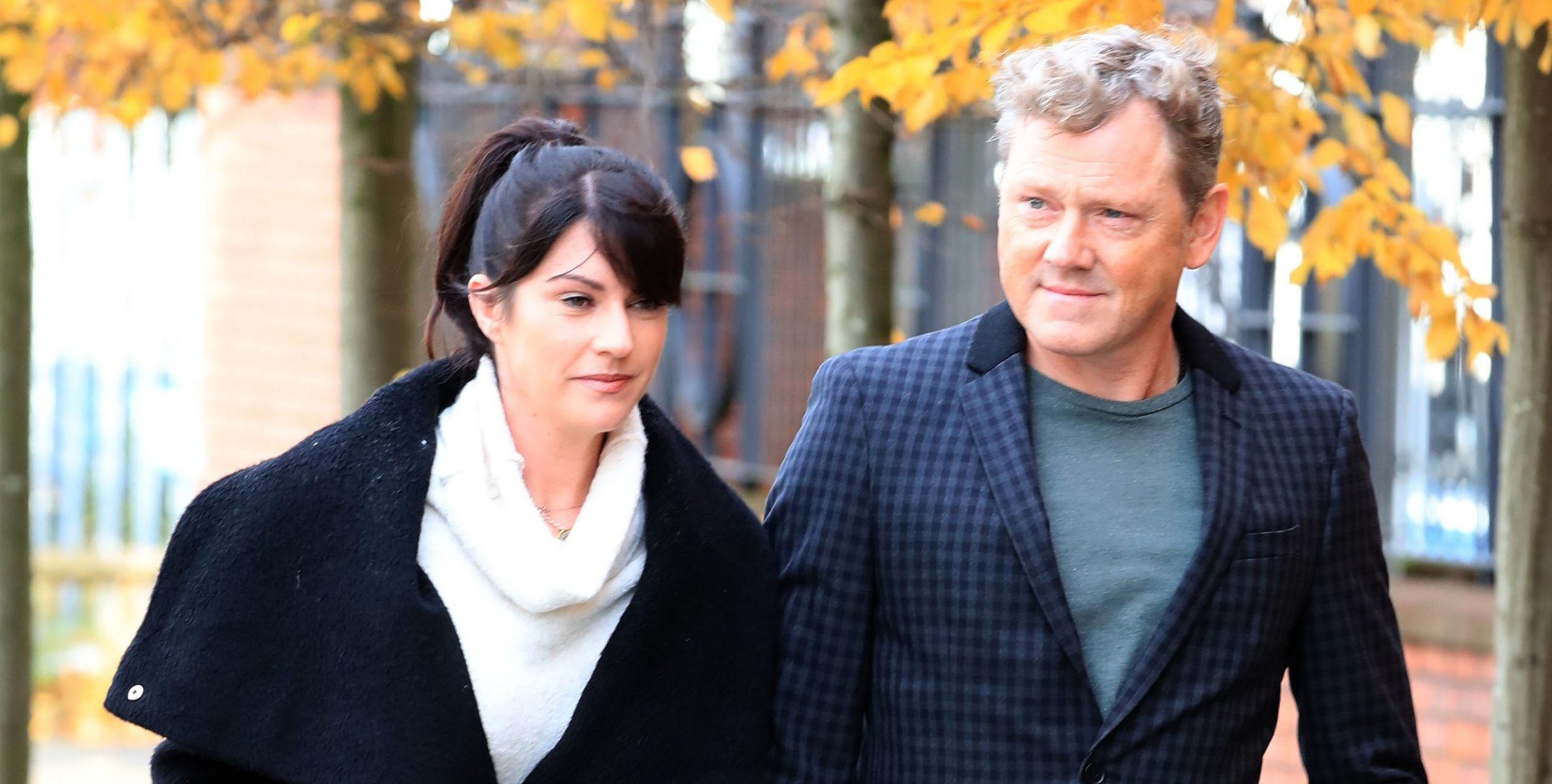 RETRANSMISSION ADDING ADDITIONAL NAME TO CAPTION Emmerdale actor Mark Jordon, 53, who plays Daz Spencer in the Yorkshire-based soap, arrives at Tameside Magistrates' Court, in Ashton-under-Lyne, where he is charged with grievous bodily harm and assault. PRESS ASSOCIATION Photo. Picture date: Thursday November 8, 2018. The actor, who also starred in TV series Heartbeat, is charged with the alleged attack on a pensioner, aged 67, in Oldham on the evening of July 1. See PA story COURTS Jordon. Photo credit should read: Peter Byrne/PA Wire
