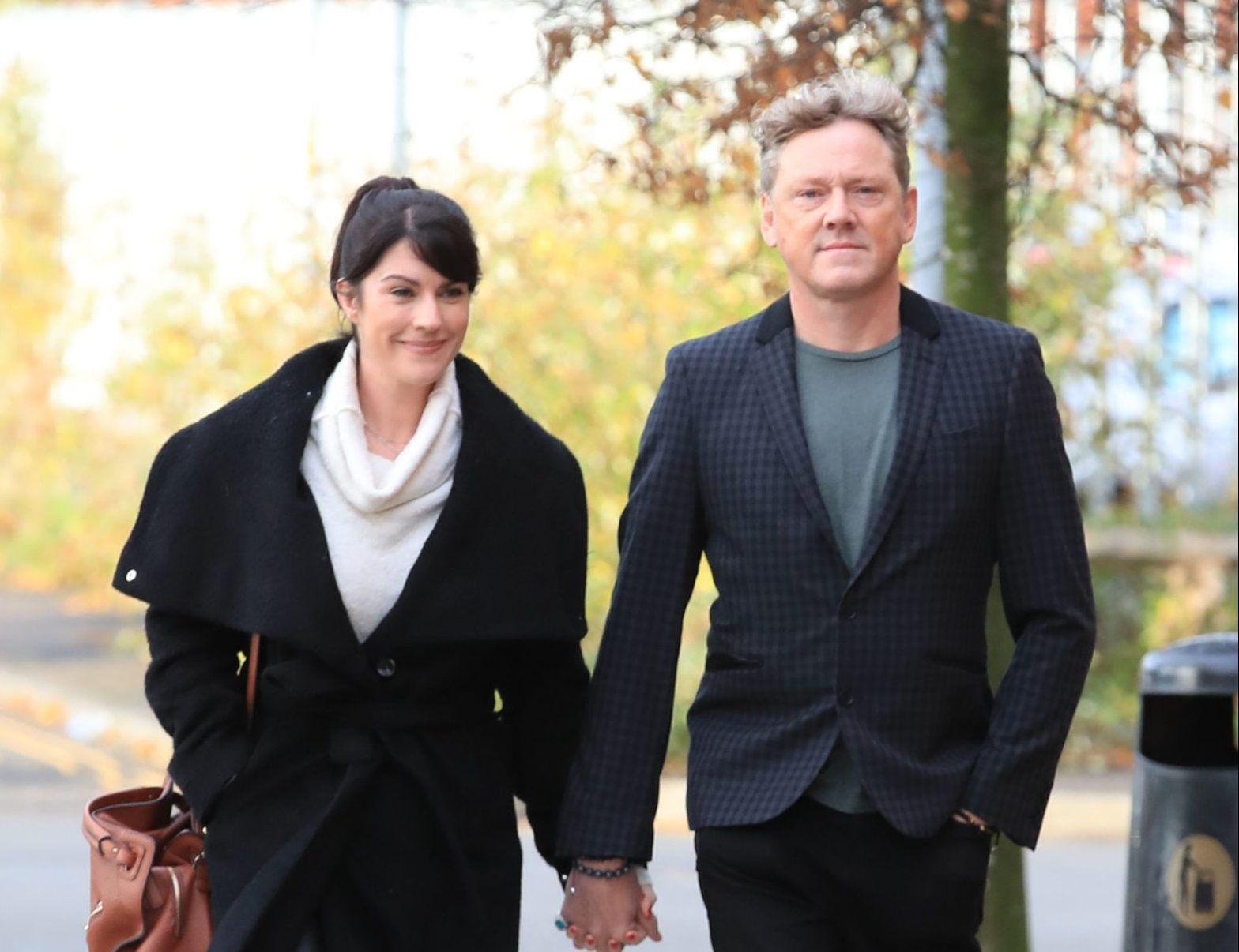 RETRANSMISSION ADDING ADDITIONAL NAME TO CAPTION Emmerdale actors Mark Jordon, 53, and Laura Norton arrive at Tameside Magistrates' Court, in Ashton-under-Lyne, where he is charged with grievous bodily harm and assault. PRESS ASSOCIATION Photo. Picture date: Thursday November 8, 2018. Jordon, 53, who plays Daz Spencer in the Yorkshire-based soap and also starred in TV series Heartbeat, is charged with the alleged attack on a pensioner, aged 67, in Oldham on the evening of July 1. See PA story COURTS Jordon. Photo credit should read: Peter Byrne/PA Wire