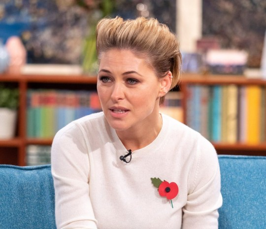 Editorial use only Mandatory Credit: Photo by Ken McKay/ITV/REX/Shutterstock (9970775as) Emma Willis 'This Morning' TV show, London, UK - 08 Nov 2018 EMMA WILLIS: ?WORKING ON THE MATERNITY WARD IS MY TOUGHEST CHALLENGE YET? She?s swapped the adrenaline rush of live television to experience live action of an entirely different kind, as Emma Willis takes on the maternity ward in her new series ?Emma Willis: Delivering Babies?. For ten weeks Emma takes on life as a Maternity Care Assistant working 13 hour days cleaning beds, making tea and monitoring the new Mums. But life on the ward takes its toll on Emma as she is forced to relive her own traumatic birthing experience. Emma joins us to talk babies, feeling broody and why she?s finally lived out her dream job.