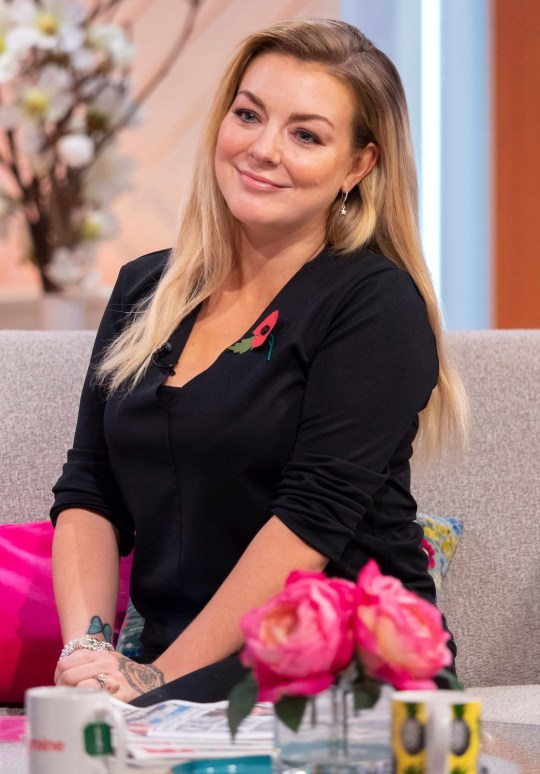 Editorial use only Mandatory Credit: Photo by Ken McKay/ITV/REX (9971601g) Sheridan Smith 'Lorraine' TV show, London, UK - 09 Nov 2018 SHERIDAN SMITH She had the toughest year of her life following the death of her father, but award-winning singer and actress Sheridan Smith is getting back on track. She?ll be joining Lorraine to tell us about her new album ?A Northern Soul?, how music has become her therapy and making wedding plans with fiance Jamie Horn. We'll also be taking a look at her dog Dolly Parton's very special talent.. she can talk! (and we've got the proof)