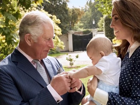 Prince Charles proves he is a doting grandfather in these heartwarming new images