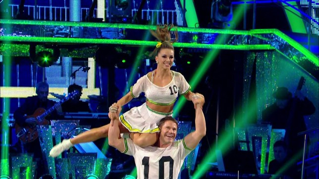 Steve Backshall Ola Jordan Strictly Come Dancing
