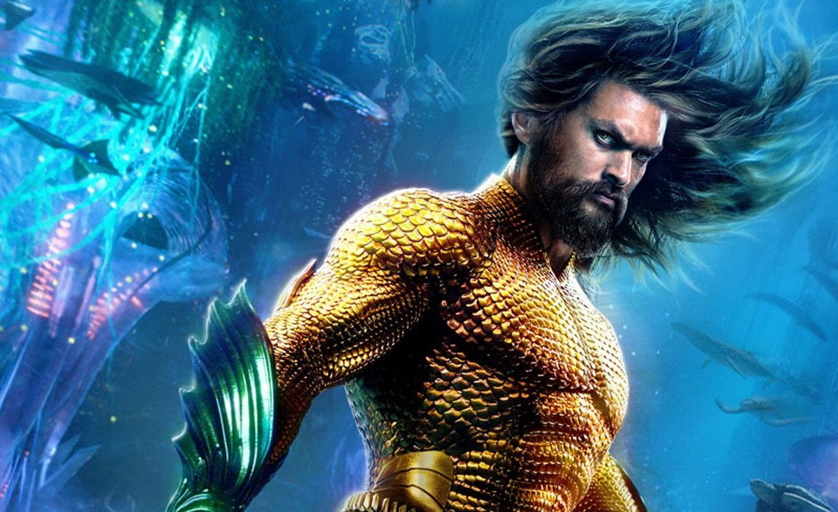 New Aquaman posters Credit: DC Comics/Warner Bros