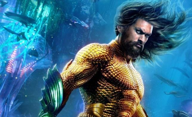 New Aquaman posters Credit: DC Comics/Warner Bros