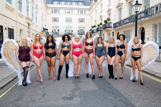The feminist defense for the Victoria Secret show METRO GRAB taken from: https://www.popsugar.co.uk/fashion/Simply-Plus-Size-Lingerie-Show-November-2018-45458860 Credit: SimplyBe