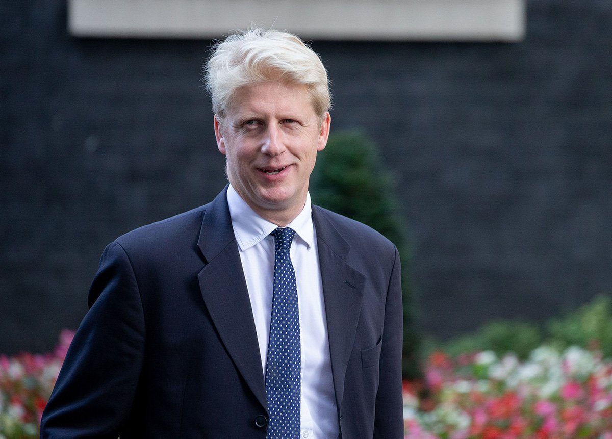 Mandatory Credit: Photo by Mark Thomas/REX (9934129bf) Jo Johnson, Minister of State for Transport, Minister for London, leaves the Cabinet meeting Cabinet meeting, London, UK-16 Oct 2018