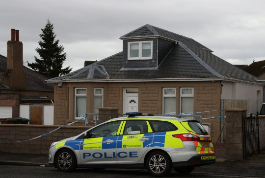 Police outside a property in Captain's Road in Edinburgh where a woman received serious burns after a masked attacker threw a corrosive substance in her face. PRESS ASSOCIATION Photo. Picture date:Saturday November 10, 2018. Police Scotland said a man wearing a dark hooded tracksuit threw the substance over the 37-year-old when she answered the door. See PA story POLICE Attack. Photo credit should read: Andrew Milligan/PA Wire