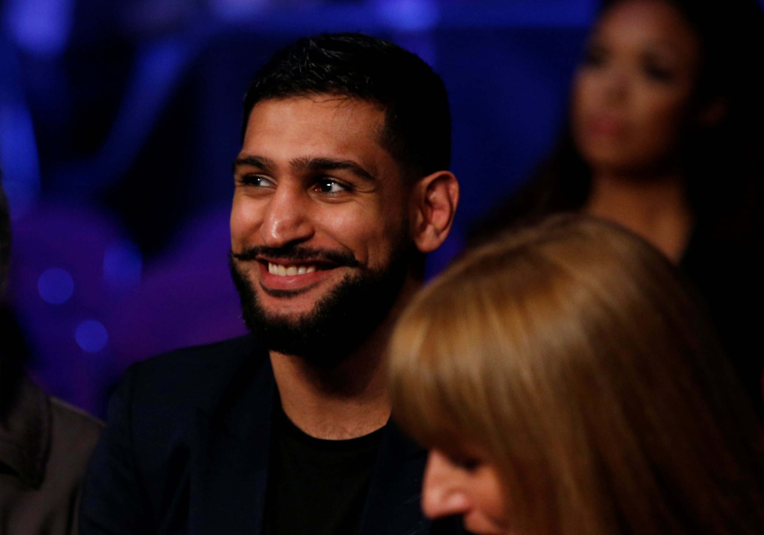 Amir Khan insists Kell Brook dodging him after rivals met ringside at Usyk-Bellew