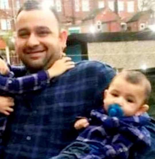 **PICTURES PROVIDED BY THE UNCLE OF ADNAN ASHRAF JARRAL** Adnan Ashraf Jarral, 35, and his one year old son Usman Adnan Jarral who died in the Sheffield car crash. November 11, 2018. See SWNS story SWLEcrash. Three adults and a one-year-old boy have died in a crash with a car that had been tailed by police. A VW Golf collided with a VW Touran people carrier turning right onto Bannham Road towards Darnall, Sheffield, on Friday night. The Golf had been followed by police minutes before the crash. Three passengers in the Touran were also injured, including a three-year-old girl who was taken to hospital with life-threatening injuries. A 22-year-old woman from the Touran is in a critical condition and a second woman from the Touran is in a serious but stable condition. Three males travelling in the Golf, aged 23, 17 and 18, suffered minor injuries in the crash, which happened shortly after 20:50 GMT.