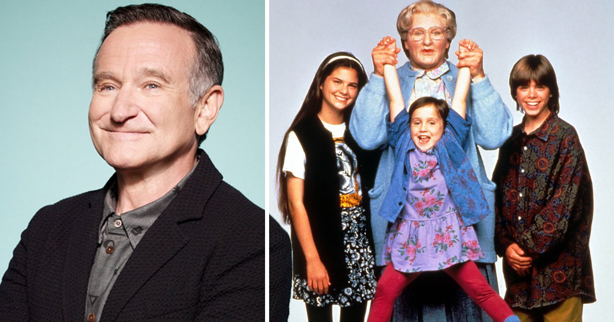 Robin Williams once went undercover dressed as Mrs Doubtfire