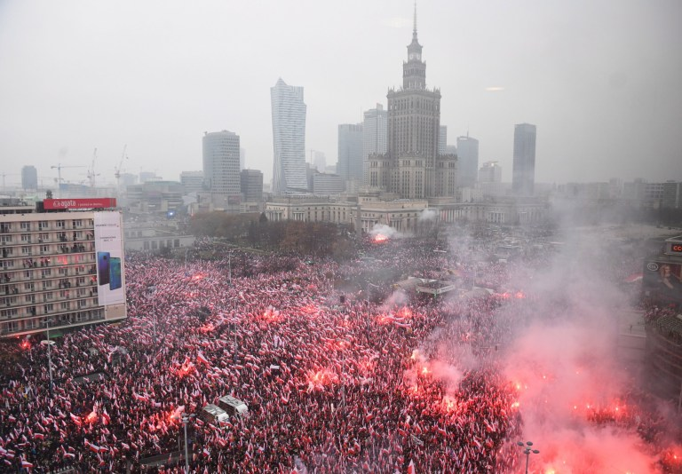 Image result for poland independence march