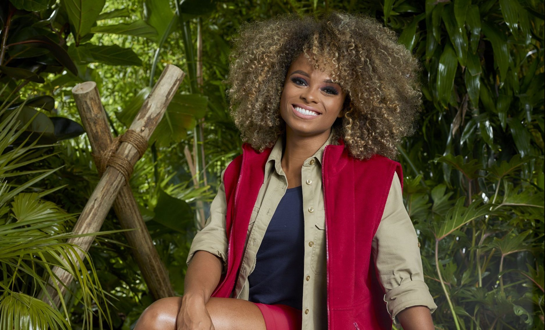Vegan I'm A Celebrity camp mates are not exempt from eating challenges