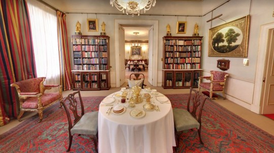Google lets you look round Clarence House with new Street View ...