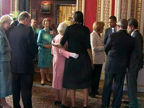Michelle Obama bonded with the Queen over their sore feet