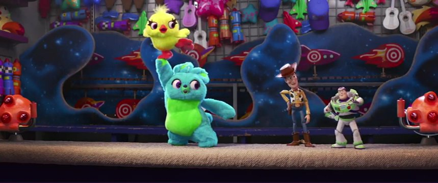 Disney releases new Toy Story 4 teaser introducing us to sassy Ducky and Bunny