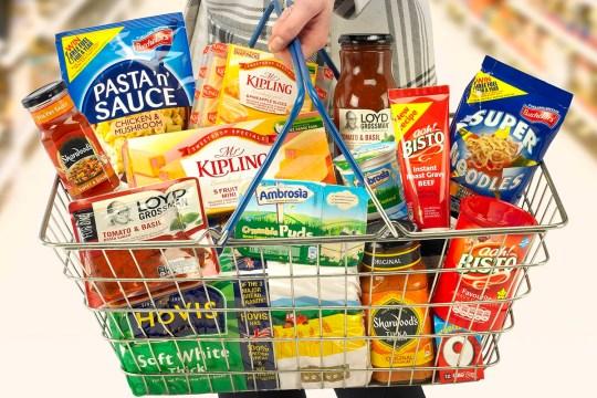 Premier Foods Basket **NO CREDIT**