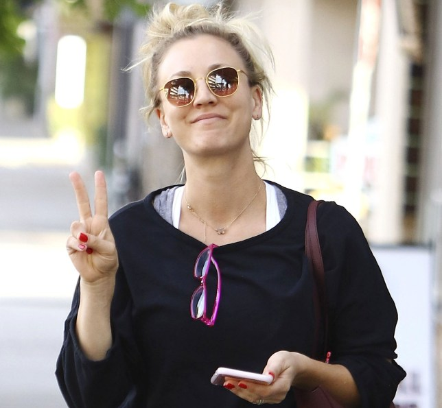 Kaley Cuoco leaving pilates class in Los Angeles, CA. Pictured: Kaley Cuoco Ref: SPL5041732 131118 NON-EXCLUSIVE Picture by: SplashNews.com Splash News and Pictures Los Angeles: 310-821-2666 New York: 212-619-2666 London: 0207 644 7656 Milan: 02 4399 8577 photodesk@splashnews.com World Rights, No France Rights, No Poland Rights