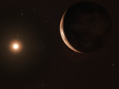 Gigantic 'shadowy super-Earth' discovered in orbit around nearby star