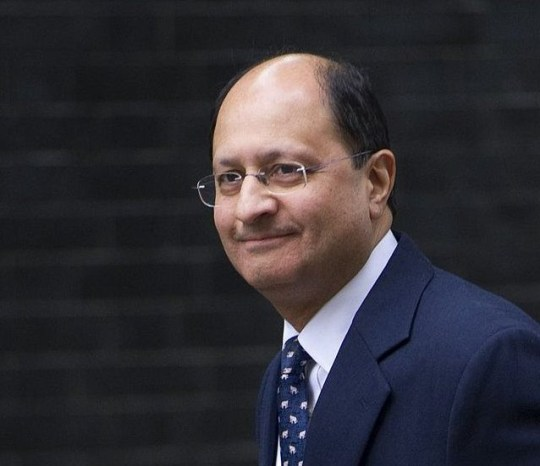 Mandatory Credit: Photo by Eddie Mulholland/REX/Shutterstock (3161297v) Shailesh Vara Cabinet reshuffle, Downing Street, London, Britain - 07 Oct 2013