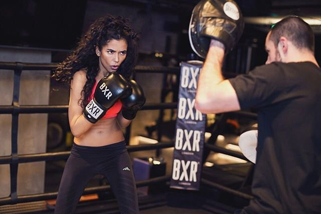 METRO GRAB - permission gained by reporter from bxrlondon Anthony Joshua has a swanky gym in London where you can learn to train like him bxrlondon