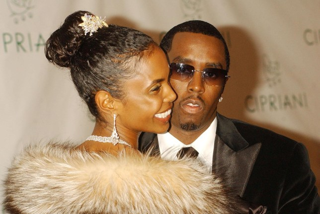 """Sean """"P. Diddy"""" Combs and Kim Porter arrive for his 35th Birthday Ball, held at Cipriani in New York City, USA."""