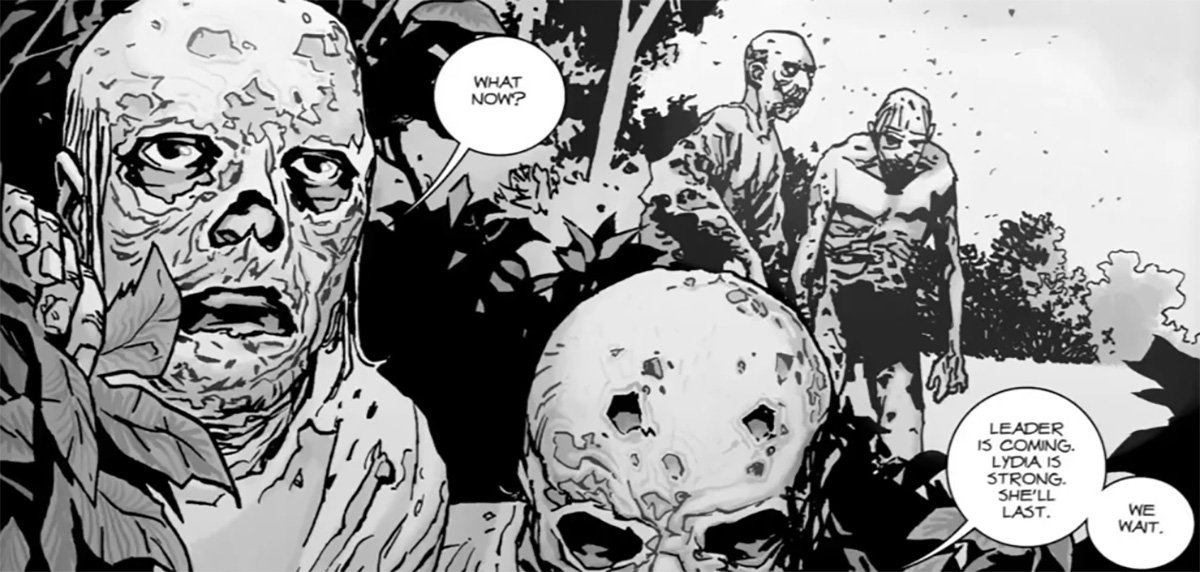 The Walking Dead bosses teases remixed Whisperers mysteries and twists Picture: The Whisperers Credit: Image Comics