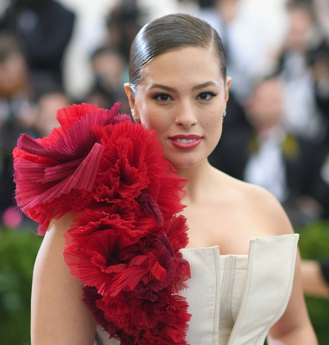NEW YORK, NEW YORK - MAY 01: Ashley Graham attends the 'Rei Kawakubo/Comme des Garcons: Art Of The In-Between' Costume Institute Gala at Metropolitan Museum of Art on May 1, 2017 in New York City. (Photo by Dimitrios Kambouris/Getty Images)