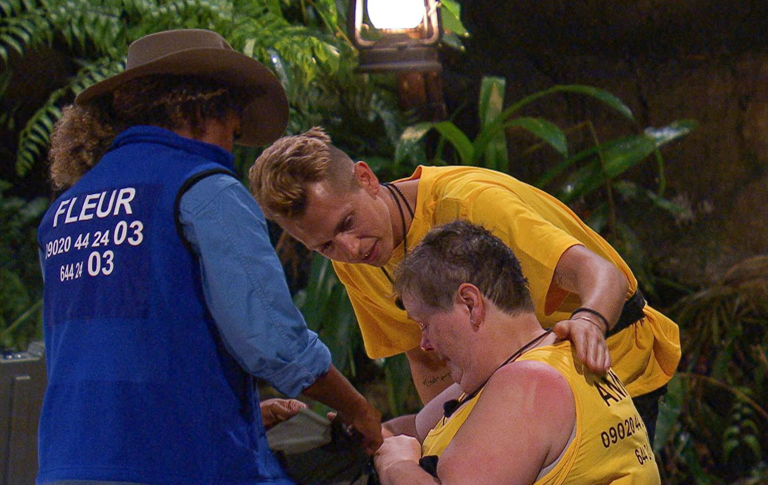 STRICT EMBARGO - NOT TO BE USED BEFORE 22:45 GMT, 18 NOV 2018 - EDITORIAL USE ONLY Mandatory Credit: Photo by ITV/REX (9982887gj) Snake Rock Camp Arrivals - Anne Hegerty 'I'm a Celebrity...Get Me Out of Here!' TV Show, Series 18, Australia - 18 Nov 2018