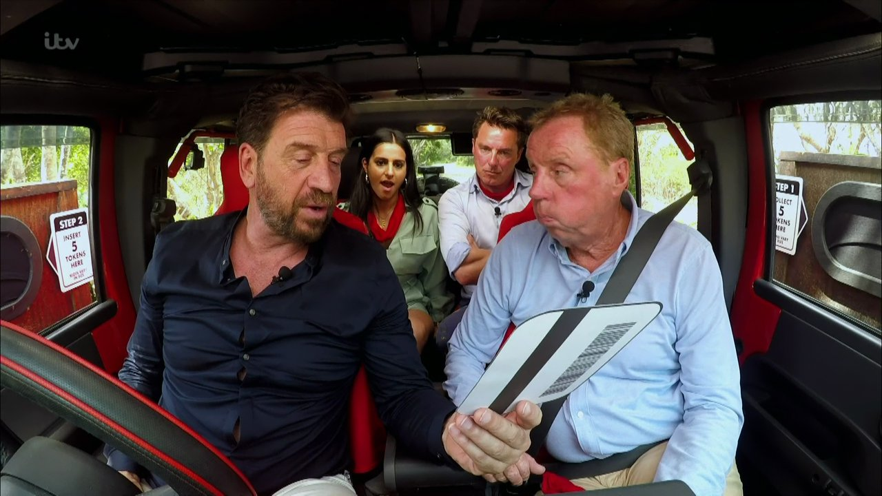I'm A Celeb's Nick Knowles feared Harry Redknapp was having stroke in the jungle