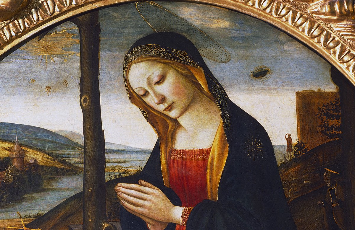 UFO spewing out tentacled aliens is spotted in painting in Florence