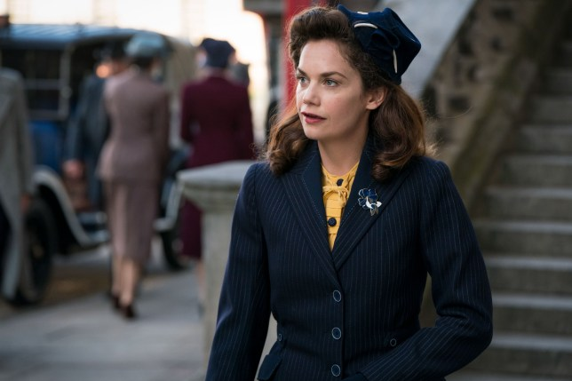 WARNING: Embargoed for publication until 00:00:01 on 20/11/2018 - Programme Name: Mrs Wilson - TX: 27/11/2018 - Episode: n/a (No. n/a) - Picture Shows: Alison Wilson (RUTH WILSON) - (C) ??WP Films Ltd. - Photographer: Steffan Hill