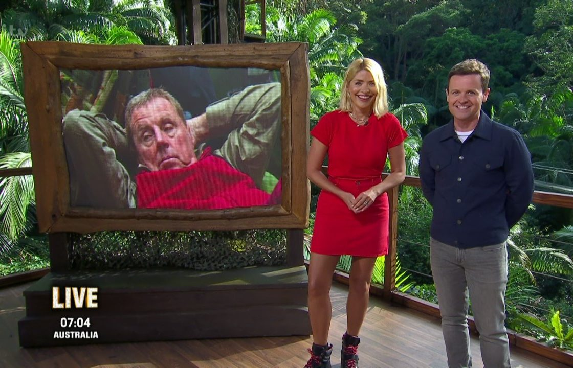 I'm a Celebrity...Get Me Out of Here!. Broadcast on ITV1 Featuring: Holly Willoughby, Declan Donnelly, Dec When: 19 Nov 2018 Credit: Supplied by WENN **WENN does not claim any ownership including but not limited to Copyright, License in attached material. Fees charged by WENN are for WENN's services only, do not, nor are they intended to, convey to the user any ownership of Copyright, License in material. By publishing this material you expressly agree to indemnify, to hold WENN, its directors, shareholders, employees harmless from any loss, claims, damages, demands, expenses (including legal fees), any causes of action, allegation against WENN arising out of, connected in any way with publication of the material.**