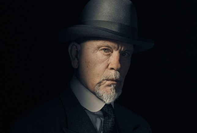 Television Programme: The ABC Murders. John Malkovich playing Hercule Poirot in BBC One???s adaptation of Agatha Christie???s The ABC Murders. Photo Credit: Charlie Gray, (c) 2018 Agatha Christie Limited, Mammoth Screen Hercule Poirot (JOHN MALKOVICH) - (C) 2018 Agatha Christie Limited, Mammoth Screen - Photographer: Charlie Gray