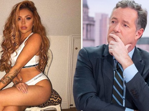 Jesy Nelson shows she DGAF about Piers Morgan's opinions on stripping off with underwear selfie