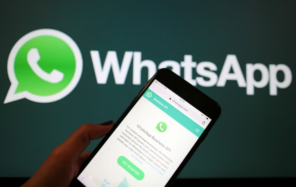 ANKARA, TURKEY - SEPTEMBER 1: WhatsApp Business Application is seen on a screen of smart phone in Ankara, Turkey on September 1, 2018. (Photo by Emin Sansar/Anadolu Agency/Getty Images)