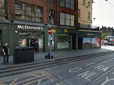 Man performed helicopter with his penis after jumping onto McDonald's counter