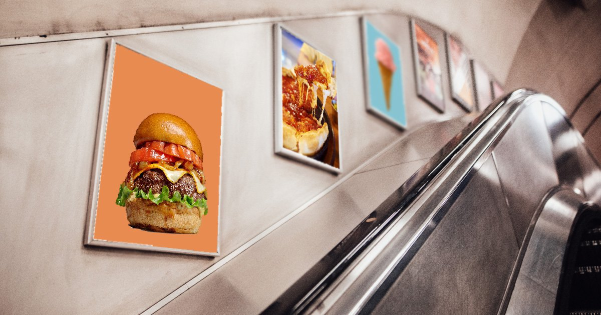Adverts for junk food to be banned on London Underground