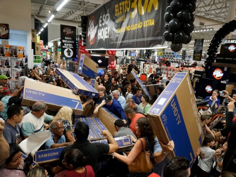 Black Friday around the world as shoppers swarm in search of bargains
