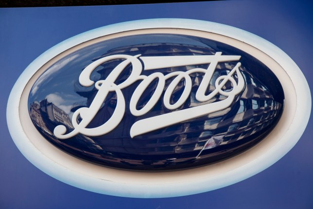 Sign for the health, beauty and chemist brand Boots in Birmingham, United Kingdom. (photo by Mike Kemp/In PIctures via Getty Images)