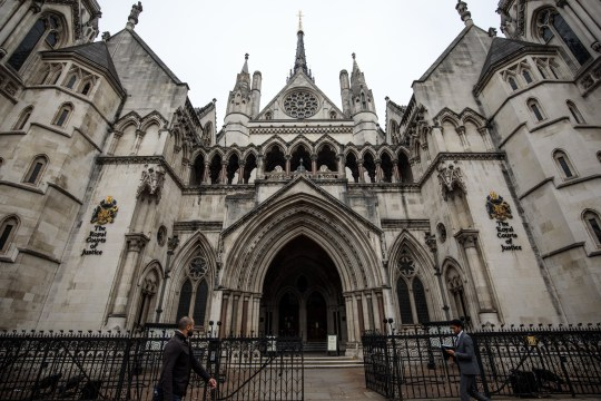 LONDON, ENGLAND - OCTOBER 08: A general view of the Royal Courts of Justice after a mass legal action against Google was blocked on October 8, 2018 in London, England. The tech giant faced claims that it collected sensitive personal data from more than 4 million iPhone users. (Photo by Jack Taylor/Getty Images)