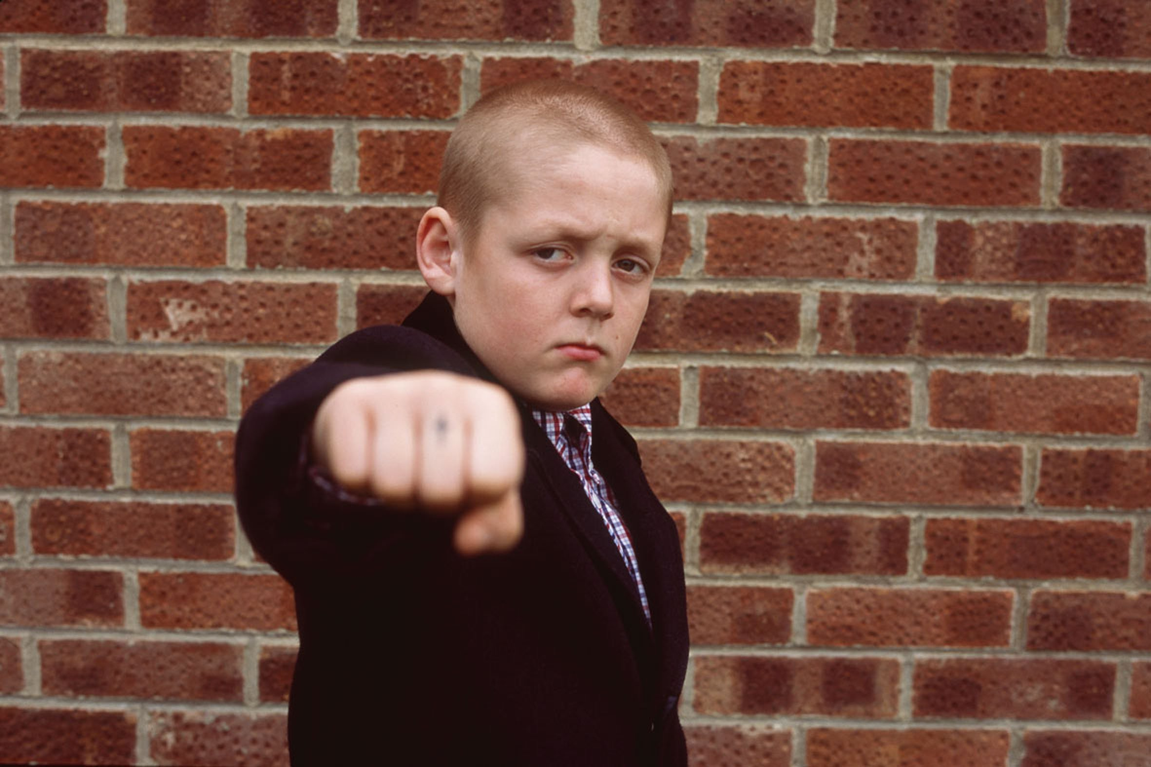 Editorial use only. No book cover usage. Mandatory Credit: Photo by Adrian Rogers/Filmfour/Uk Film Council/Kobal/REX/Shutterstock (5876654d) Thomas Turgoose This Is England - 2006 Director: Shane Meadows Filmfour/Uk Film Council UK Scene Still Drama