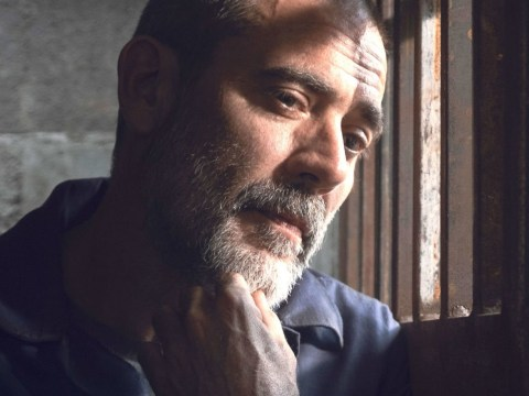 The Walking Dead bosses treat fans to Negan's uncensored entrance and there's an insane amount of swearing