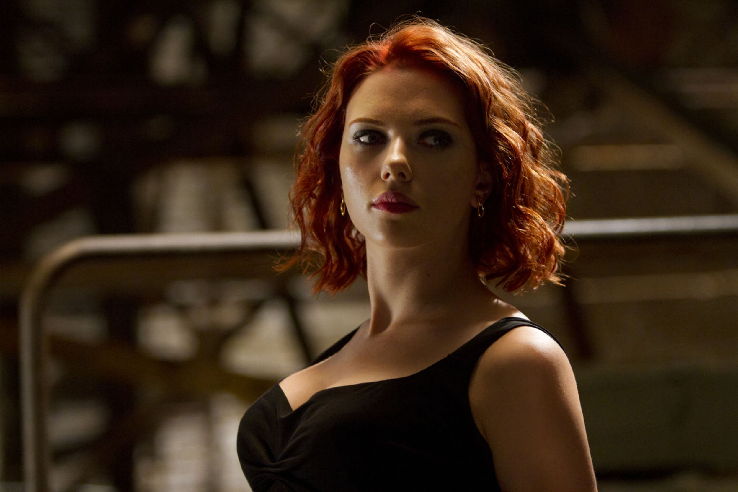 Editorial use only. No book cover usage. Mandatory Credit: Photo by Moviestore/REX/Shutterstock (1586575d) The Avengers - Scarlett Johansson (as Natasha Romanoff/Black Widow) The Avengers - 2012